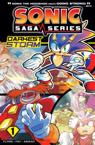 Sonic Saga Series Vol.1 The Darkest Storm