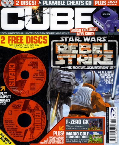Cube Issue 23 (October 2003)
