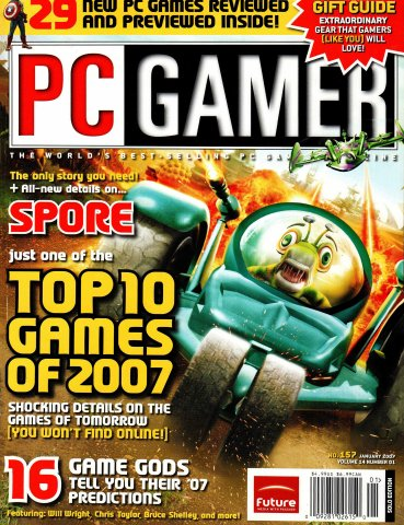 PC Gamer Issue 157 (January 2007)