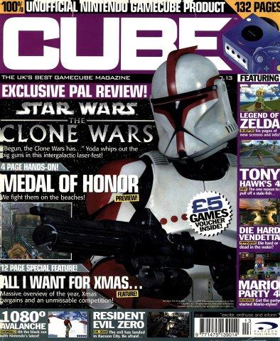 Cube Issue 13 (Xmas 2002)