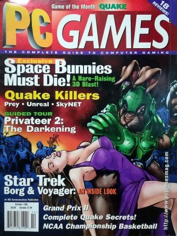 PC Games Vol. 03 No. 10 (October 1996)