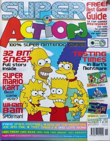 Super Action Issue 02 (November 1992)