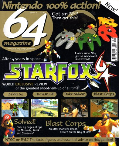 64 Magazine Issue 02 (May/June 1997)