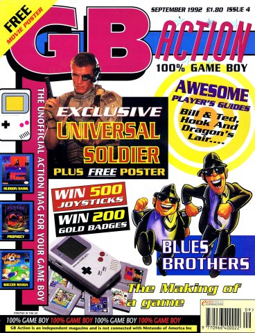 GB Action Issue 04 (September 1992)