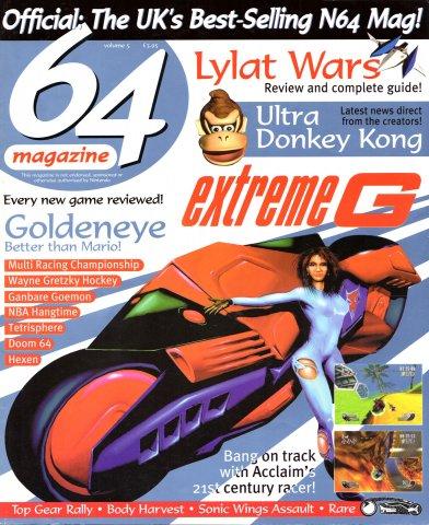 64 Magazine Issue 05 (October 1997)