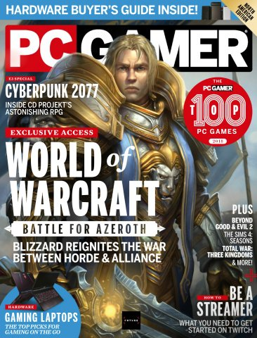 PC Gamer Issue 309 (October 2018)