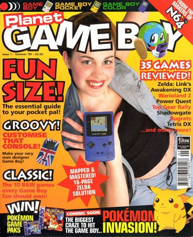 Planet Game Boy Issue 01 (Summer 1999)