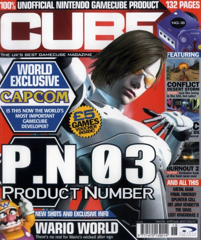 Cube Issue 18 (May 2003)