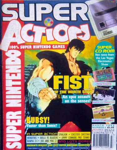Super Action Issue 06 (March 1993)