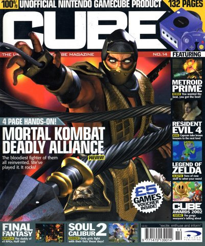 Cube Issue 14 (January 2003)