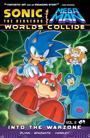 Sonic the Hedgehog / Mega Man: Worlds Collide Vol.2 - Into the Warzone