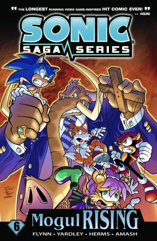 Sonic Saga Series Vol.6 Mogul Rising