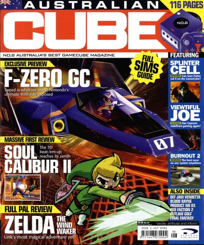 Cube (AUS) Issue 08 (July 2003)
