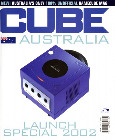 Cube (AUS) Issue 01 (May 2002)