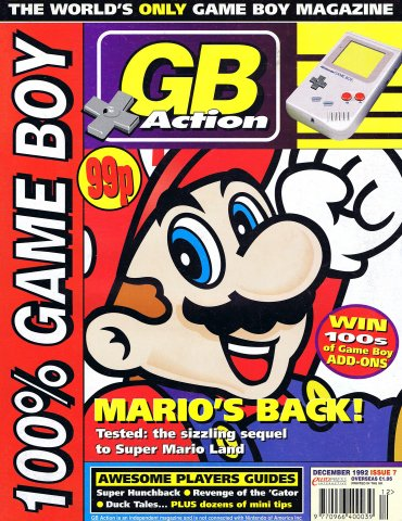 GB Action Issue 07 (December 1992)