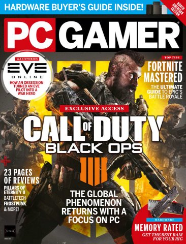 PC Gamer Issue 307 (August 2018)