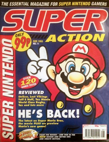 Super Action Issue 11 (August 1993)