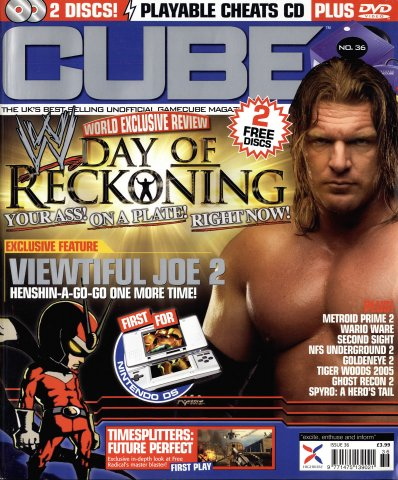 Cube Issue 36 (October 2004)