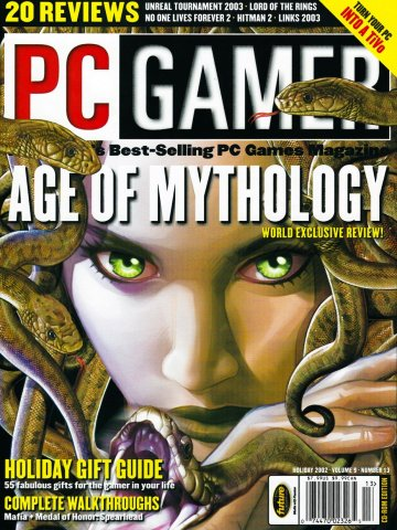 PC Gamer Issue 105 (Holiday 2002)