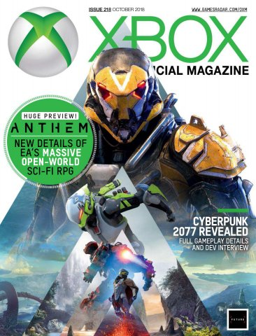 Official Xbox Magazine Issue 218 (October 2018)