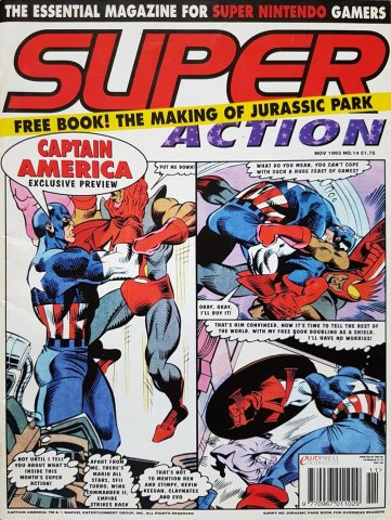 Super Action Issue 14 (November 1993)