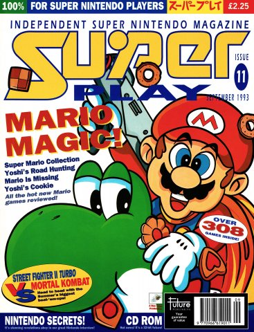 Super Play Issue 11 (September 1993)