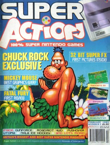 Super Action Issue 05 (February 1993)