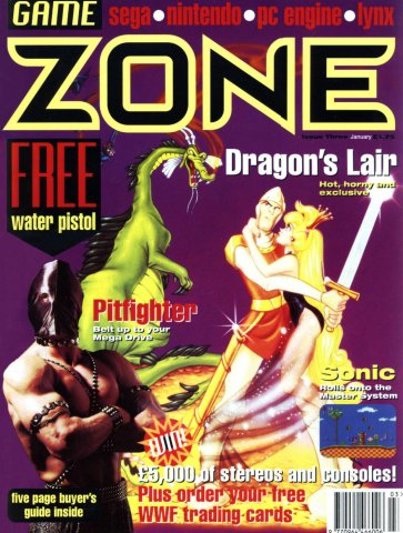 Game Zone Issue 03 (January 1992)