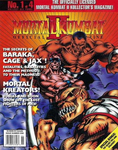 Mortal Kombat II Kollectors Magazine #1