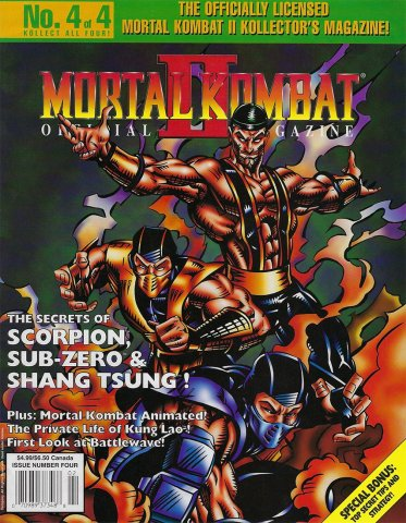 Mortal Kombat II Kollectors Magazine #4