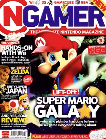 NGamer Issue 01 (August 2006)