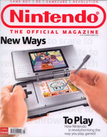 Official Nintendo Magazine 001 (March 2006)