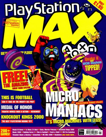 PlayStation Max Issue 14 (January 2000)