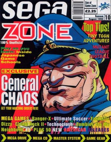 Sega Zone Issue 10 (August 1993)