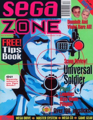 Sega Zone Issue 02 (December 1992)