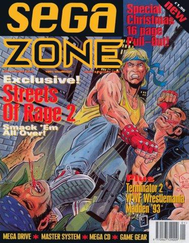Sega Zone Issue 03 (January 1993)