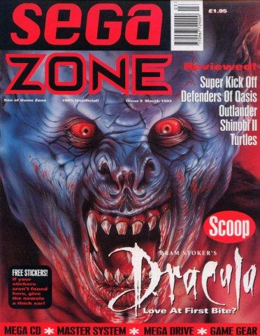 Sega Zone Issue 05 (March 1993)
