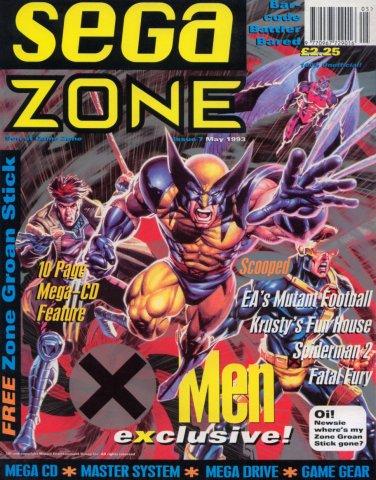 Sega Zone Issue 07 (May 1993)