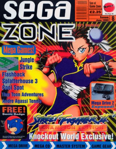 Sega Zone Issue 08 (June 1993)