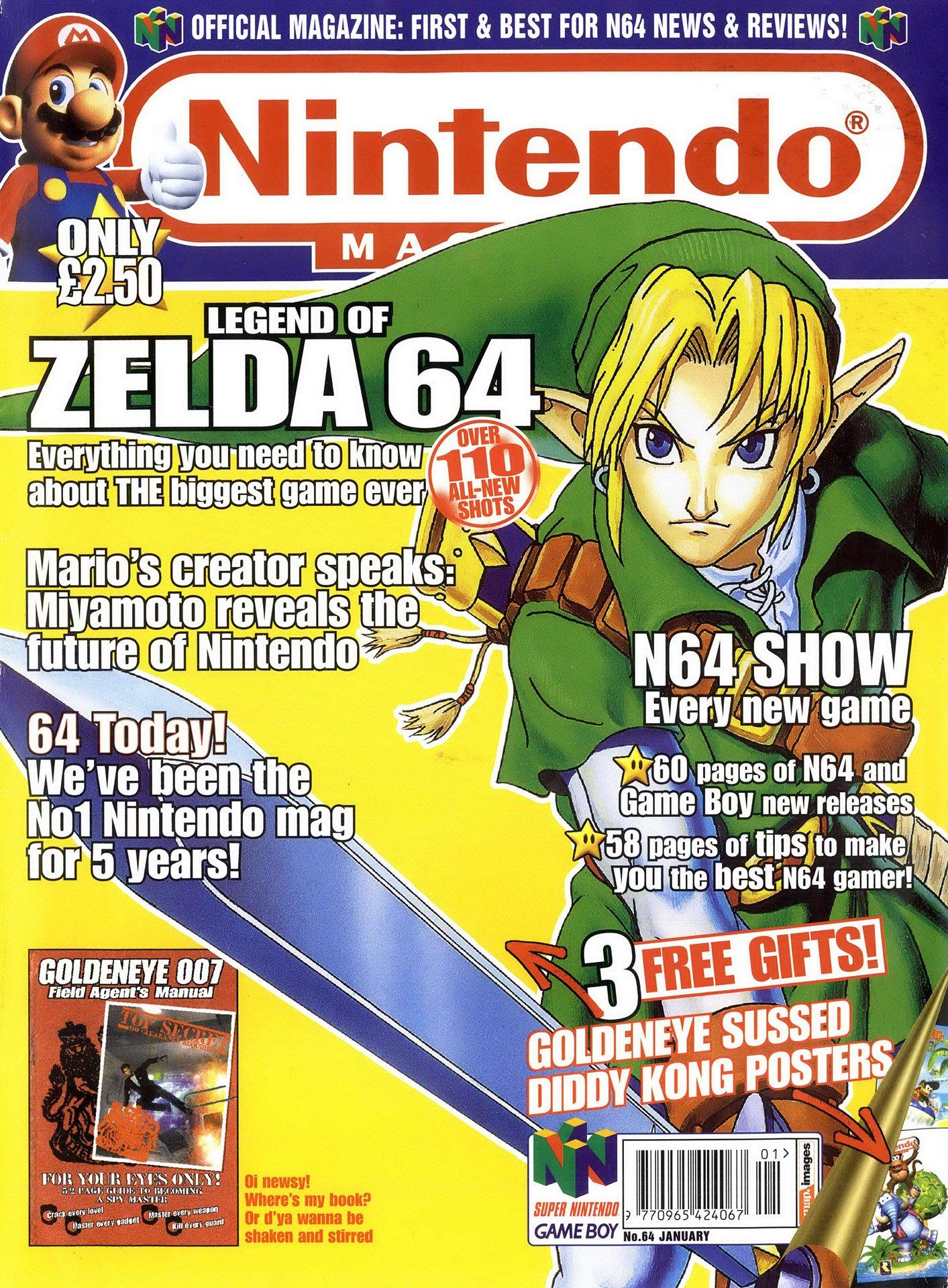 Nintendo Official Magazine 064 (January 1998)