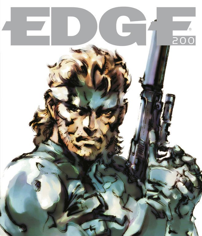 Edge 200 (April 2009) (cover 020 - Solid Snake - Metal Gear Solid series)