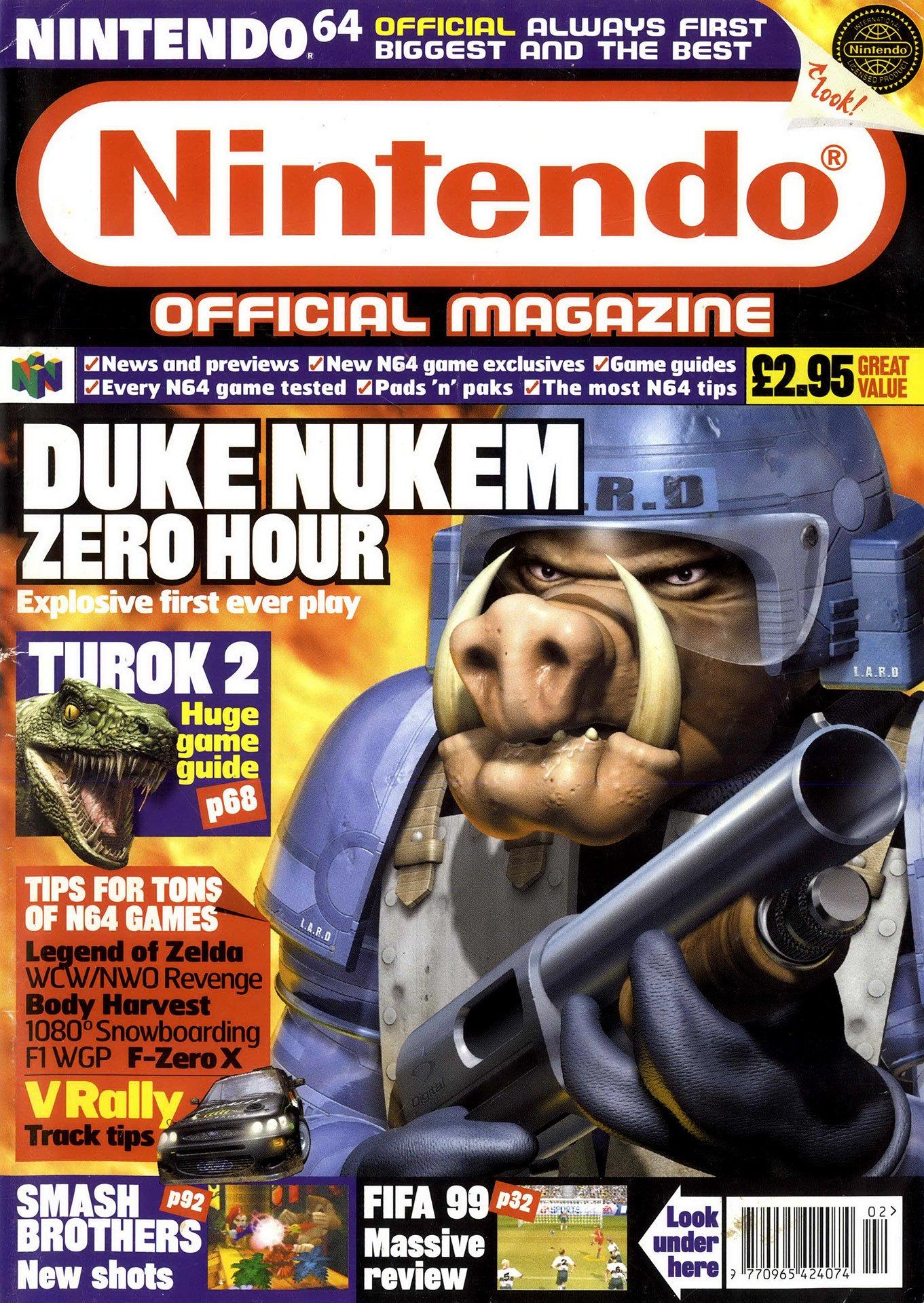 Nintendo Official Magazine 077 (February 1999)