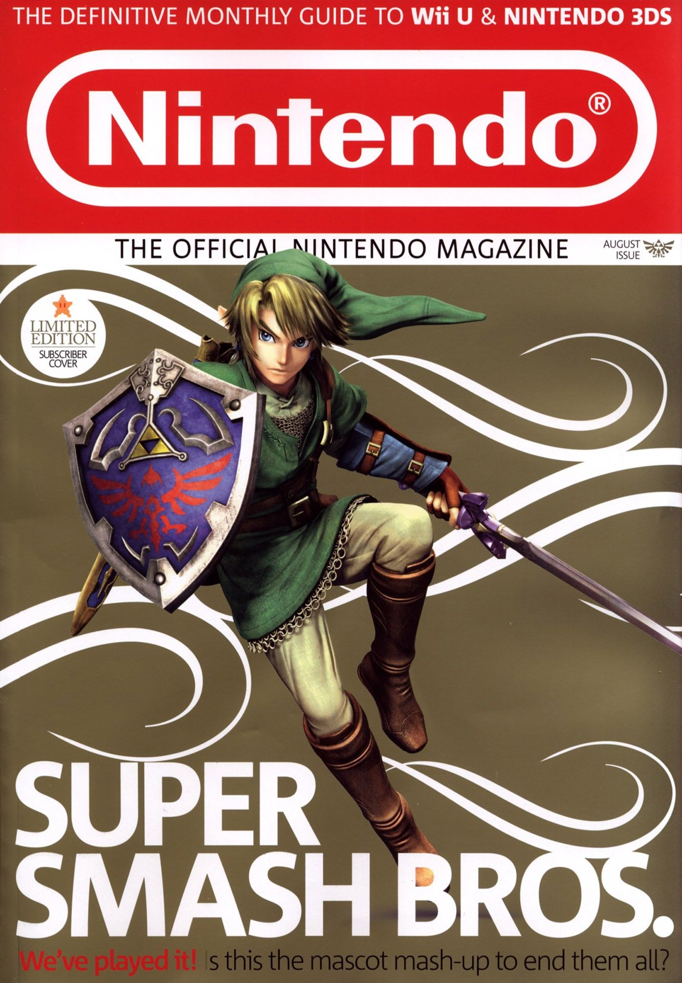 Official Nintendo Magazine 110 (August 2014) (subscriber cover)