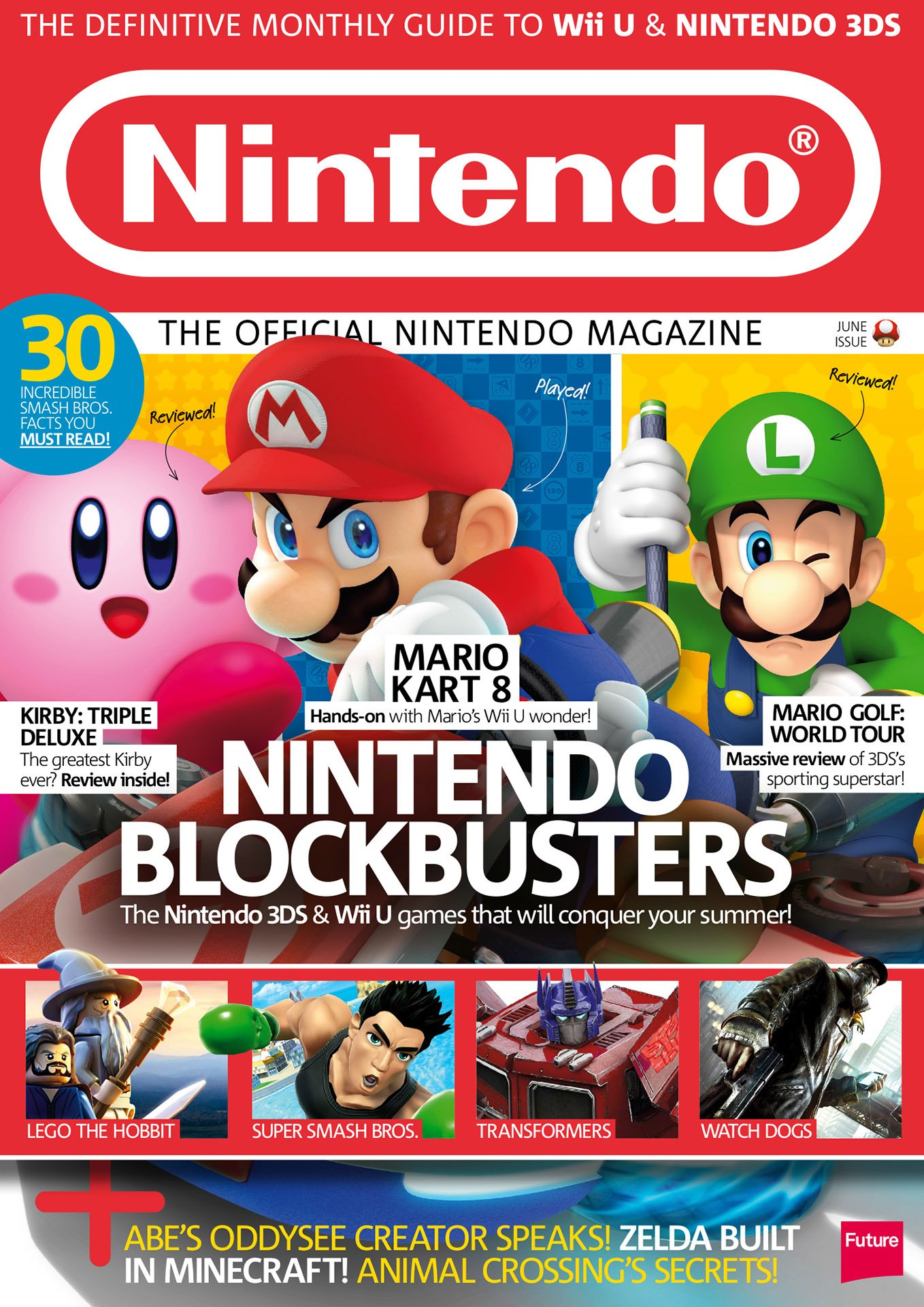 Official Nintendo Magazine 108 (June 2014)