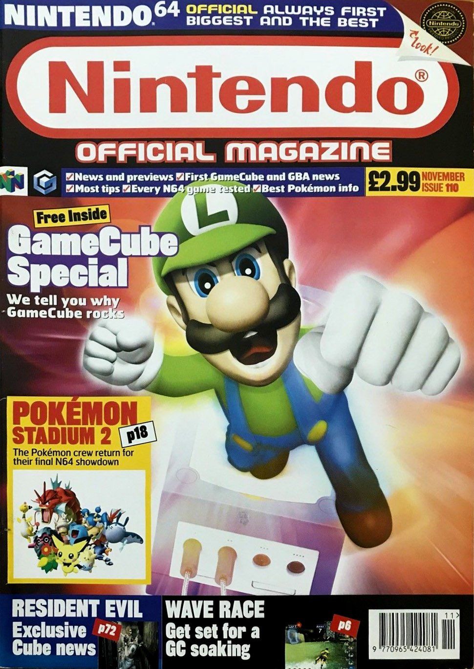 Nintendo Official Magazine 110 (November 2001)