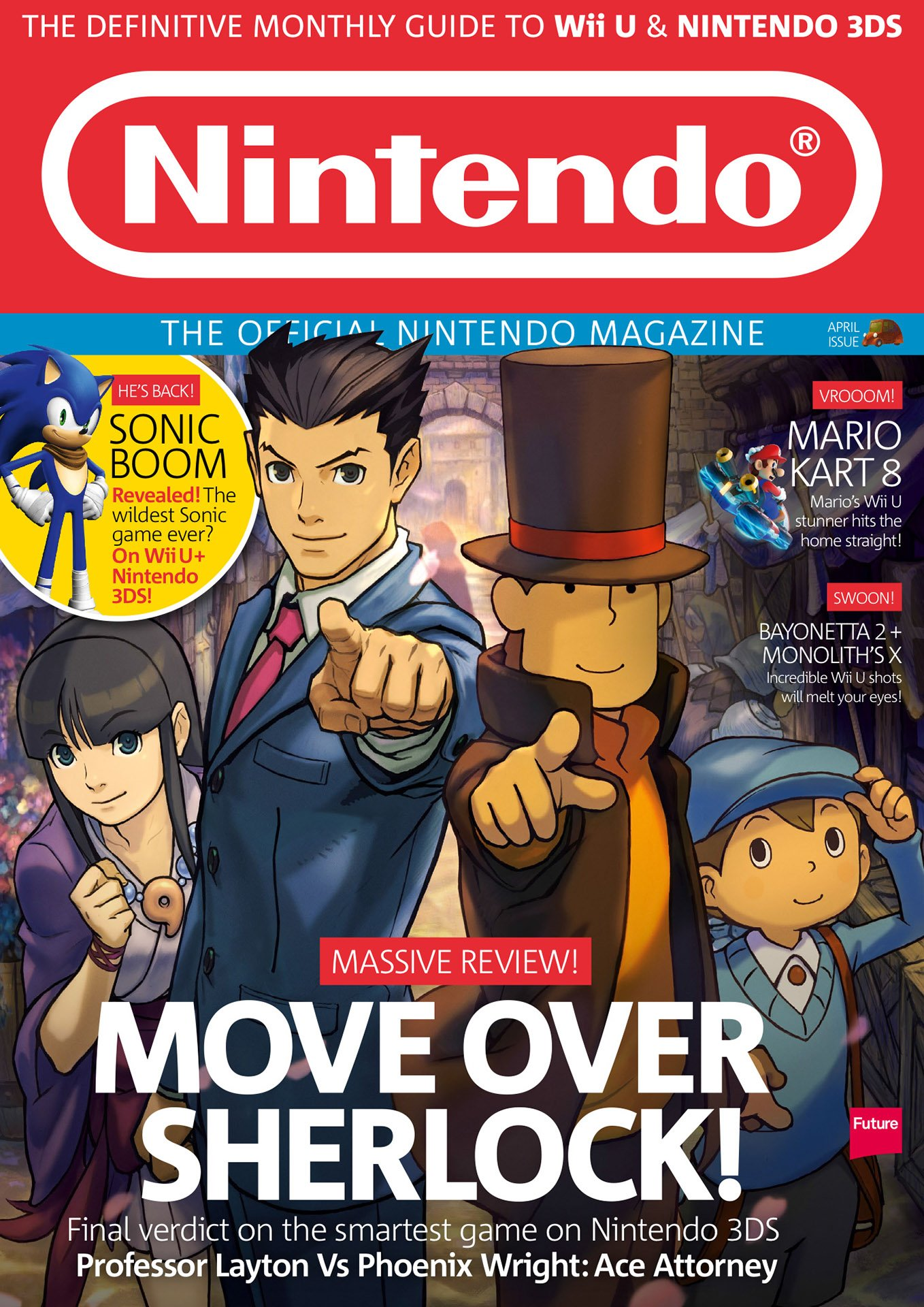 Official Nintendo Magazine 106 (April 2014)
