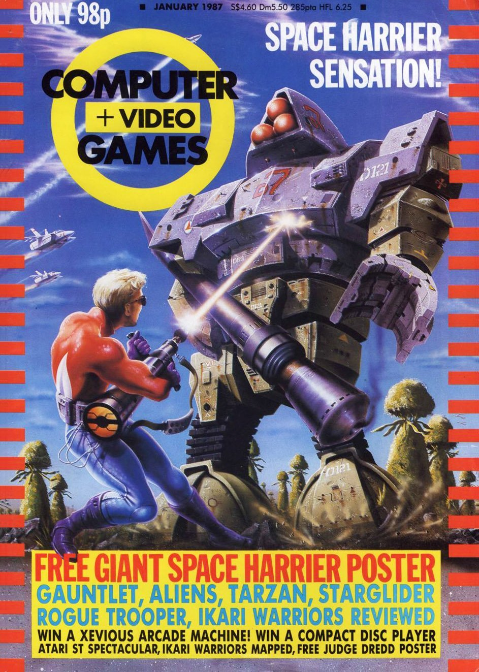 Computer & Video Games 063 (January 1987)