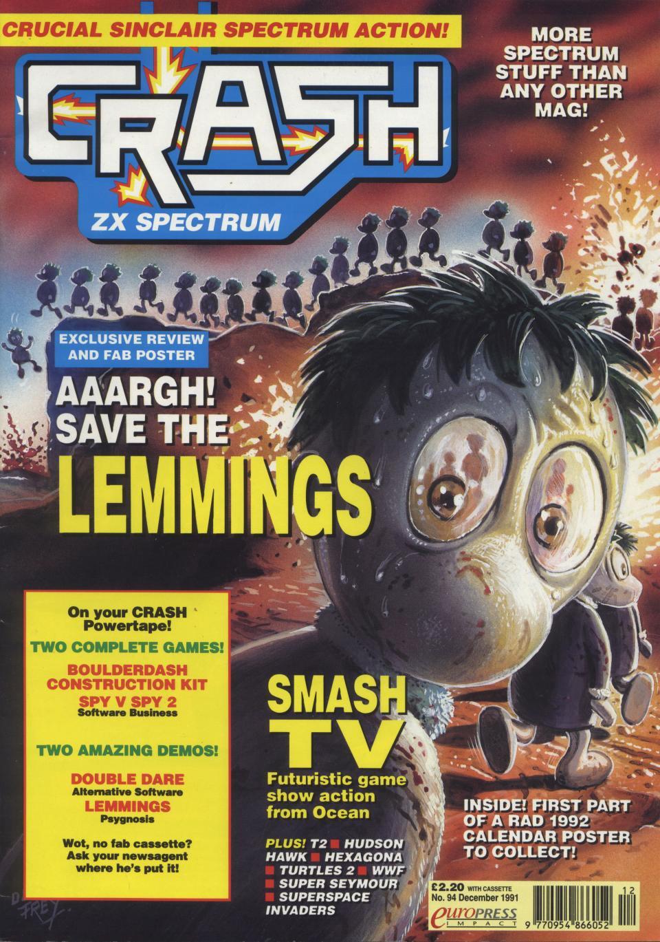 Crash 94 (December 1991)
