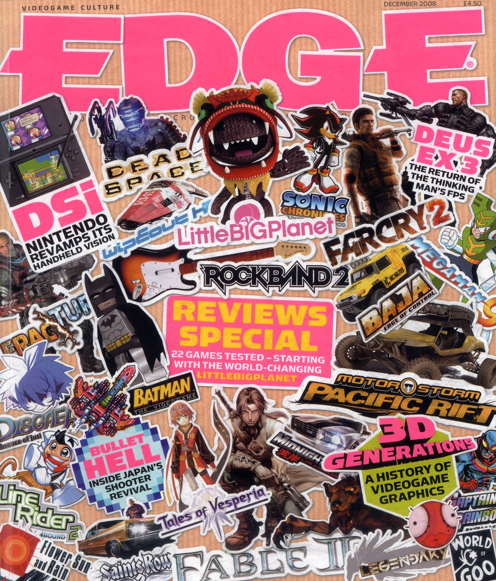 Edge 195 (December 2008)