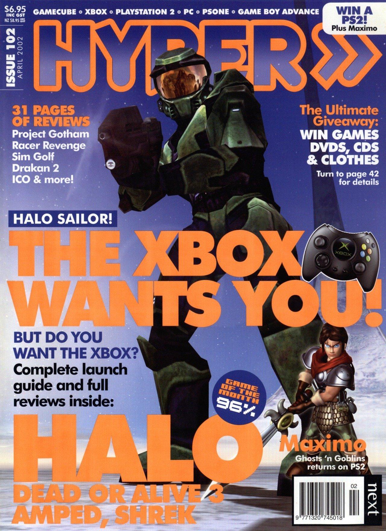 Hyper 102 (April 2002)